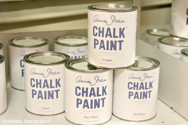 chalk paint pintura vintage