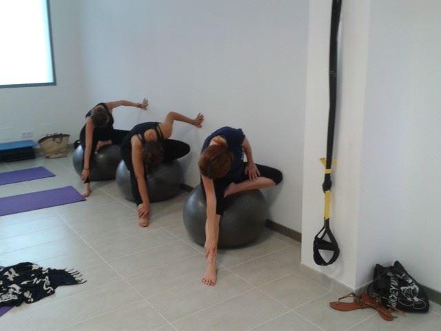 yoga para embarazadas menorca